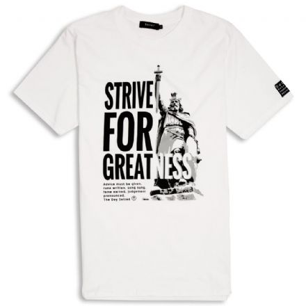 Strive For Greatness T-Shirt  - White